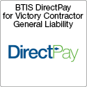 BTIS DirectPay for Victory Contractor General Liability
