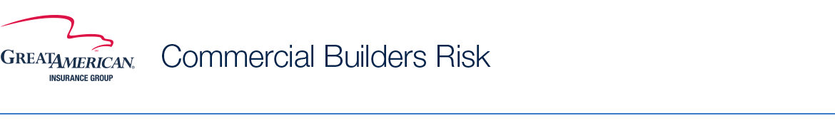 Great american commercial builders risk for Great american builders